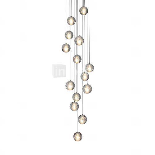 3watt Anheng Lys , Moderne / Nutidig Krom Trekk for Krystall Metall Stue / Soverom / Spisestue 5233861 2016 – kr.4.021