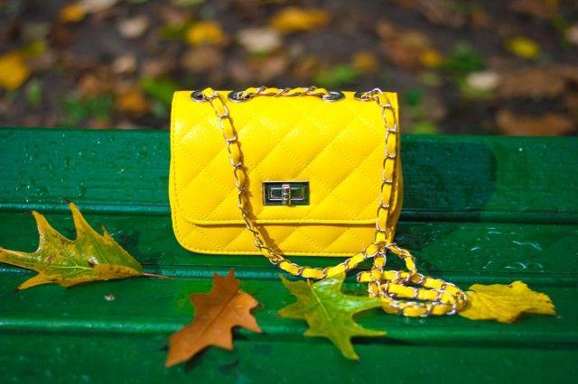 Geanta Hague Small Yellow