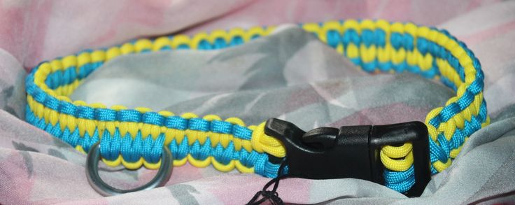 Paracord large dog collar