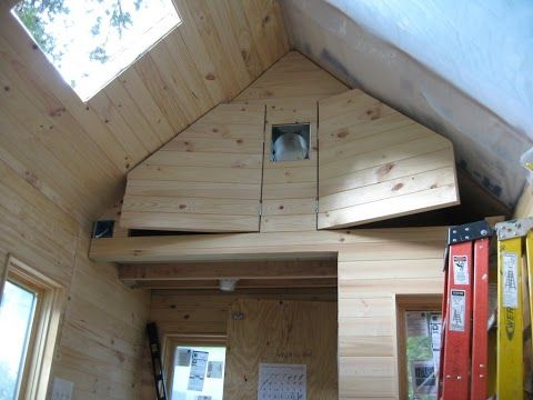 Tiny house storage? Not seen this one before