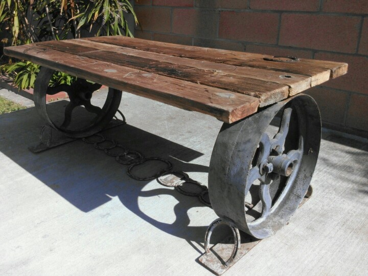 Cowboy Coffee Table | Mmd Antiques | Pinterest | Industrial And Industrial  Furniture