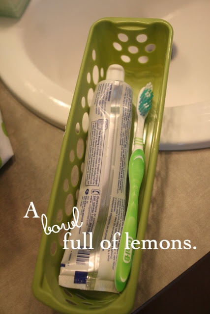 How to organize the medicine cabinet | A Bowl Full of Lemons