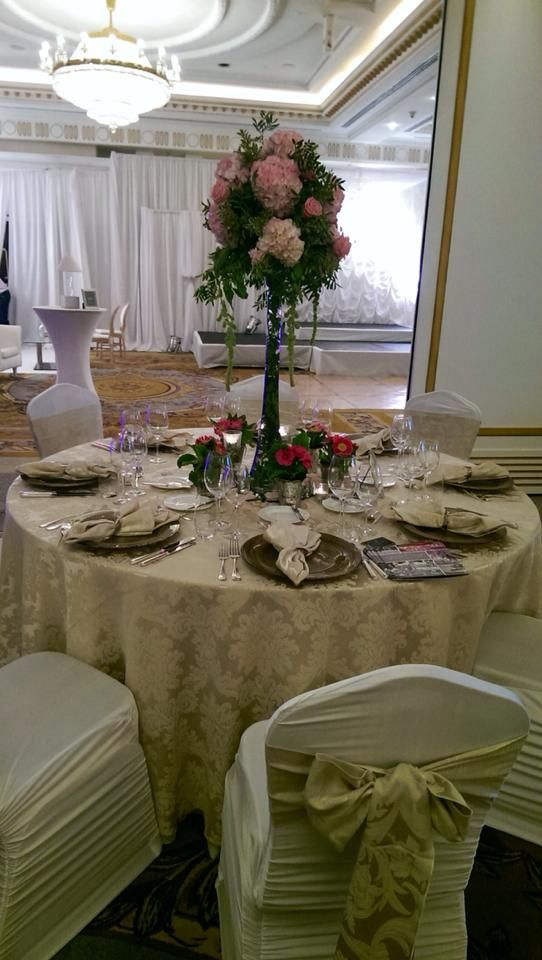 Set-up options for your reception
