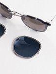 Indigo/Silver Model 739 Titanium Sunglasses by EYEVAN 7825 – The Bureau Belfast