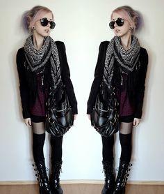 grunge goth clothing - Google Search