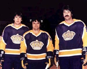 Los Angeles Kings Triple Crown Line: Dave Taylor, Marcel Dionne, Charlie Simmer