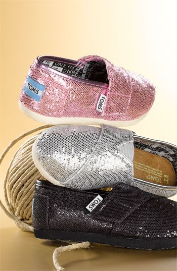 sparkle baby toms!!! My child will have these!!! ( that is when I have kids lol)