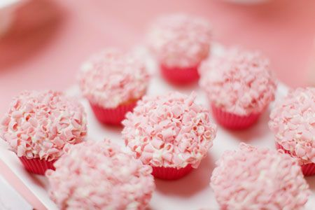 pink!: Cupcakes Adorable, Ruffle Cupcakes, Cakes Cupcakes, Cupcakes Couture, Cupcake Ideas, Pink Cupcakes, Pink Curl, Couture Cupcakes