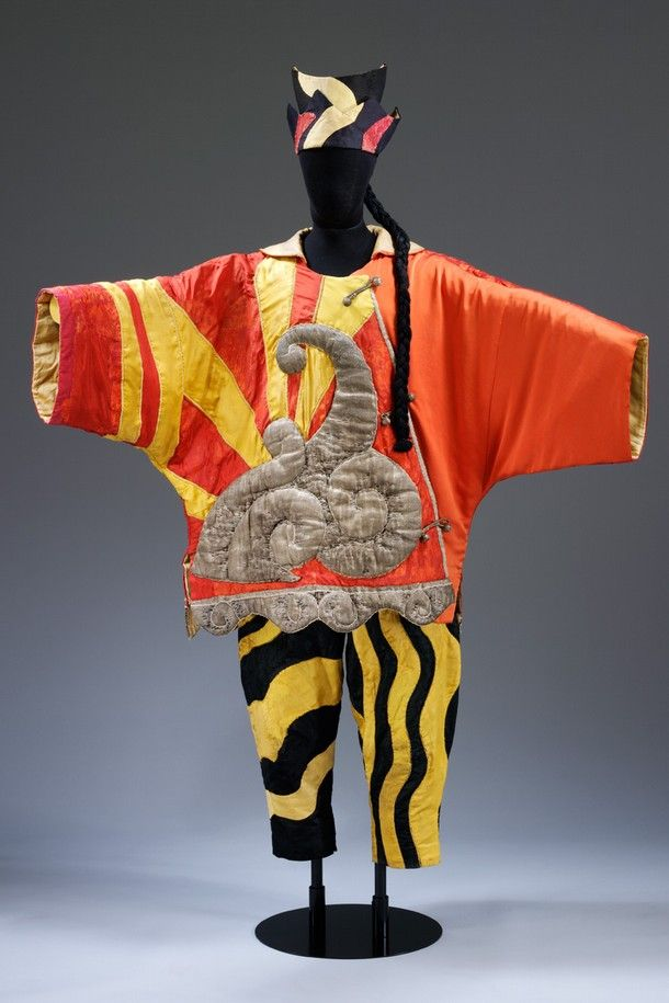 Pablo Picasso (designer), costume for Diaghilev and the Ballets Russes, the Chinese Conjuror from Parade, 1917. Victoria and Albert Museum