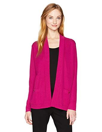 e13b0ae9a6 Great for Anne Klein Women's 2 Pocket Malibu Cardigan online. [$135.99]  alltrendytop from