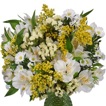FiftyFlowers.com - Kiss of Yellow Flower Centerpiece