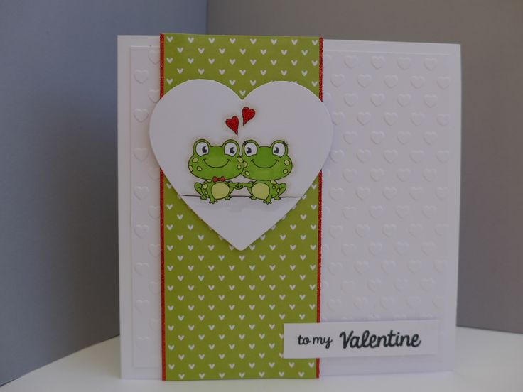 Cards made using Clearly Besotted Jump for Joy stamps.