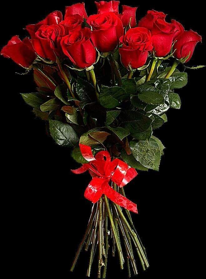 Гифка красивый букет роз