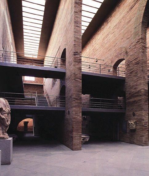 Image on Archisquare • Architettura Design Blog http://www.archisquare.it/rafael-moneo-museo-di-arte-romana-merida-spagna/