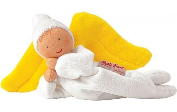 Kathe Kruse Nicki Baby White Angel | Cow & Lizard Toy Store