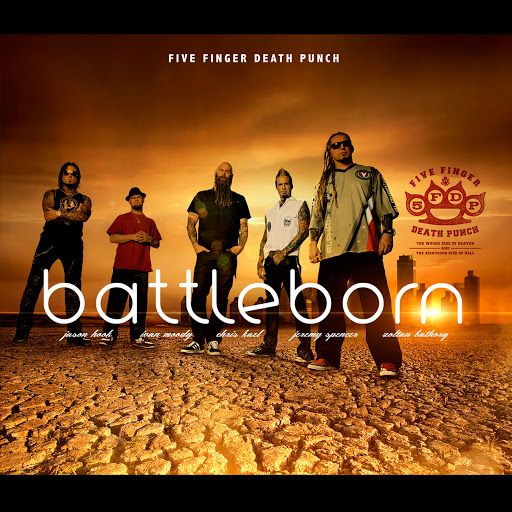 I love five finger death punch♥ battleborn♪♪my song!