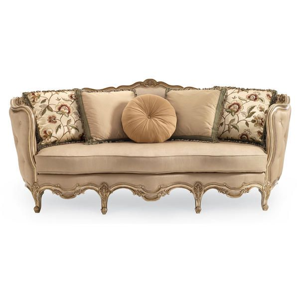 By Schnadig In Augusta, GA   Florence Carved Wood Sofa