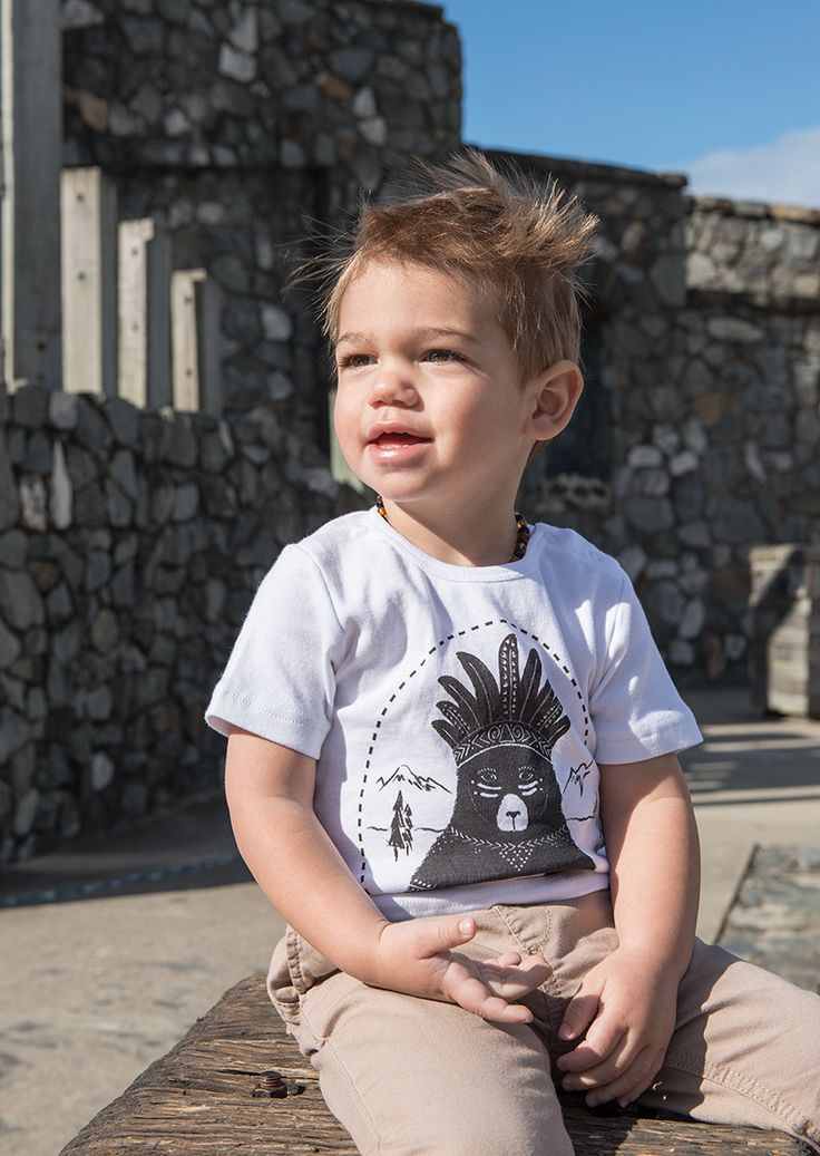 Indie & Sloan tees are for kids with an adventurous spirit, those who like to stand out and explore and who aren't afraid to get dirty. These tees have attitude and a hint of cheek like the kids who wear them Indie & Sloan creates cool tee's for awesome babies, boys and girls. All the tee's are very soft and durable 100% cotton and Australian made. Each tee is screen printed by hand with lots of care, only the best non –toxic water based ink is used. Suitable for babies 3 months to 12 years.
