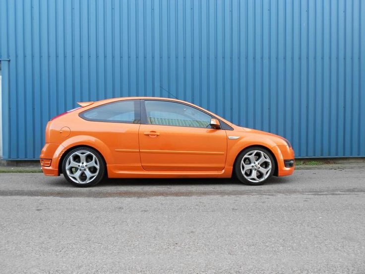 orange ford focus mk2 st ford pinterest ford focus. Black Bedroom Furniture Sets. Home Design Ideas