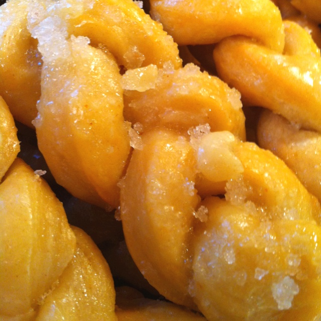 Home made koeksusters (an afrikaans south African recipe)