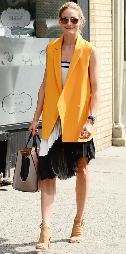 Look of the Day - July 21, 2014 - Olivia Palermo from #InStyle