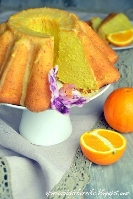 Opowieści z piekarnika: Babka pomarańczowa