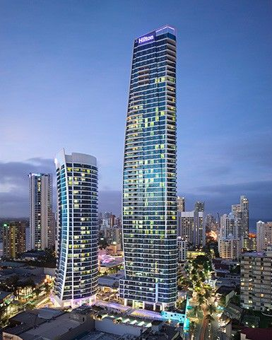 Hilton Surfers Paradise, Gold Coast, Australia - can't wait to stay here for our Wedding Anniversary in September.