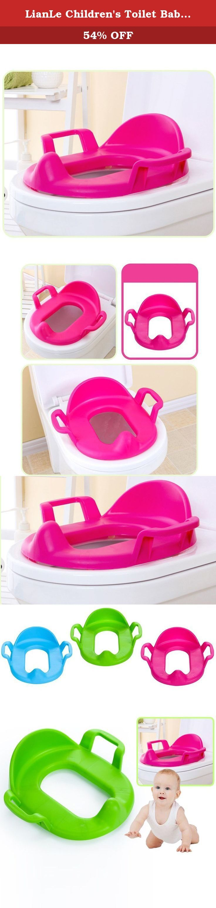 LianLe Children's Toilet Baby Toilet Seat Washers for Boys and Girls. Package Including: 1 *Baby Potty Training Seat Ring .