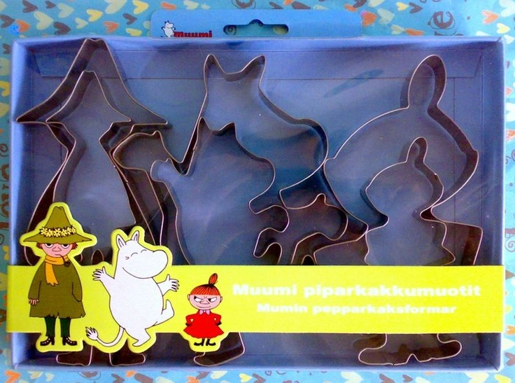 Moomin cookie cutters