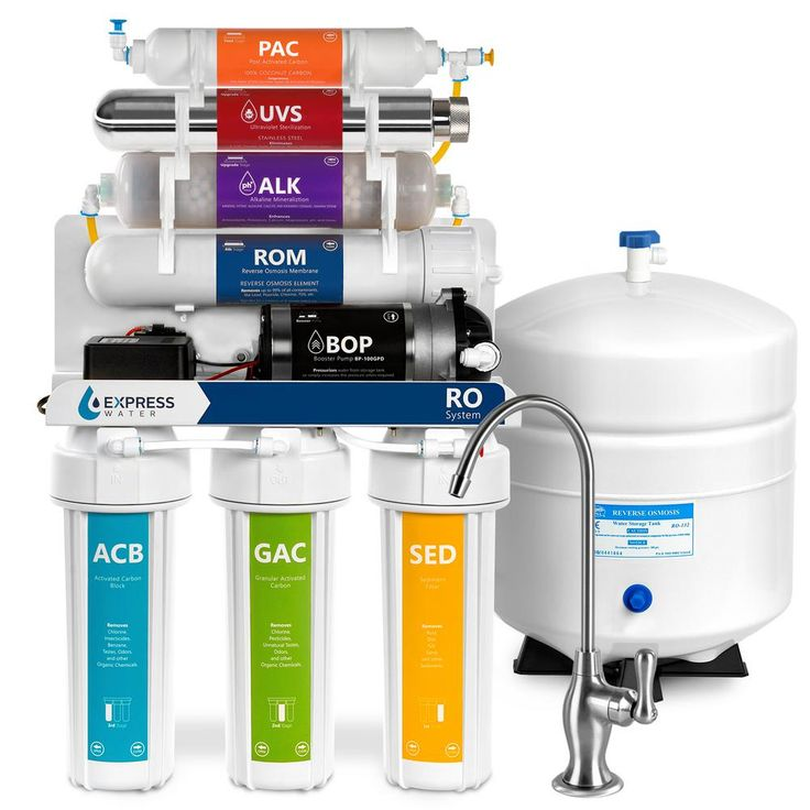 Express Water Alkaline Ultraviolet Pressure Boost Reverse