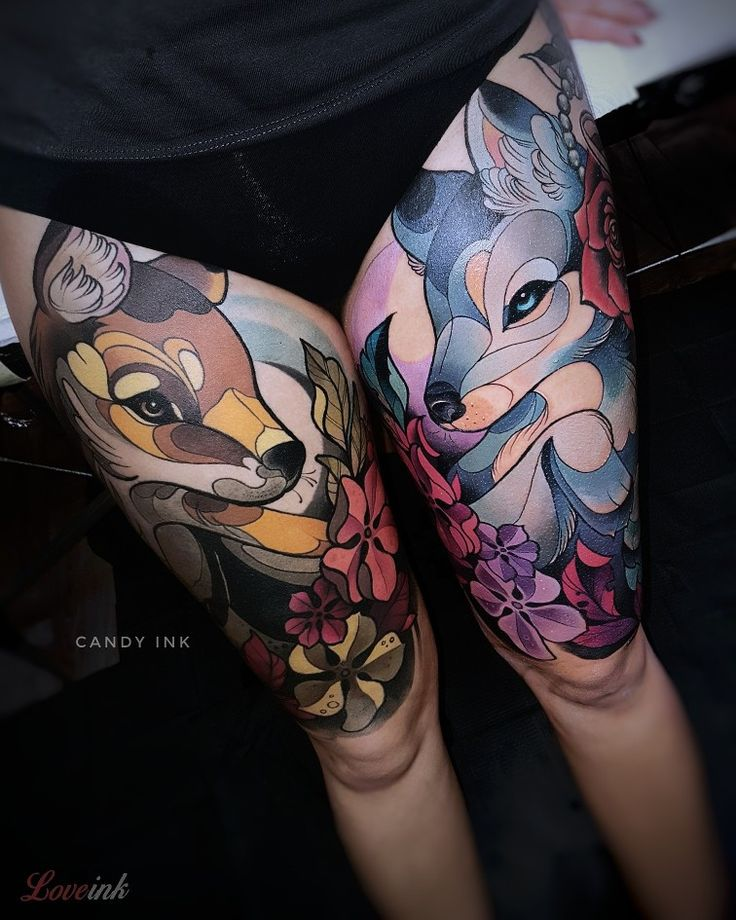Best 25+ Wolf Tattoo Traditional Ideas On Pinterest