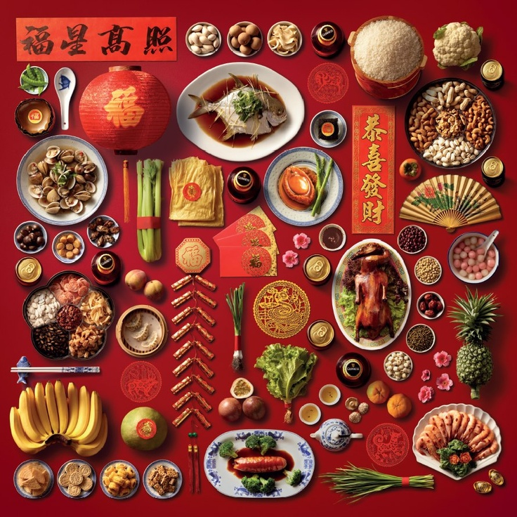 Chinese New Year's Dishes