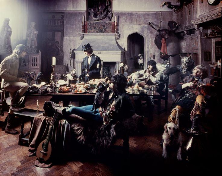 rolling stones. beggars banquet photo shoot