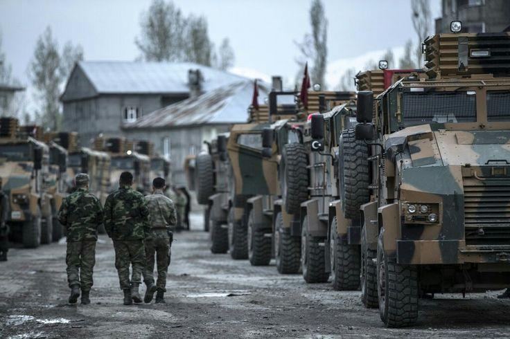 Turkey Commando and (BMC Kirpi Mrap 4x4)