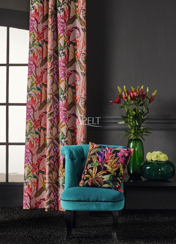 modern ethno vorhang und kissen exotic von apelt deco collection 2016 2017 pinterest. Black Bedroom Furniture Sets. Home Design Ideas