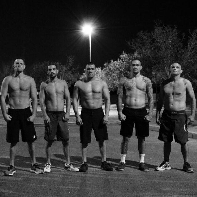 Road 2 War in Las Vegas getting ready for UFC 202 ! # . #natediaz #mma #ufc202 #fight #wardiaz #209 #athlete #i #war