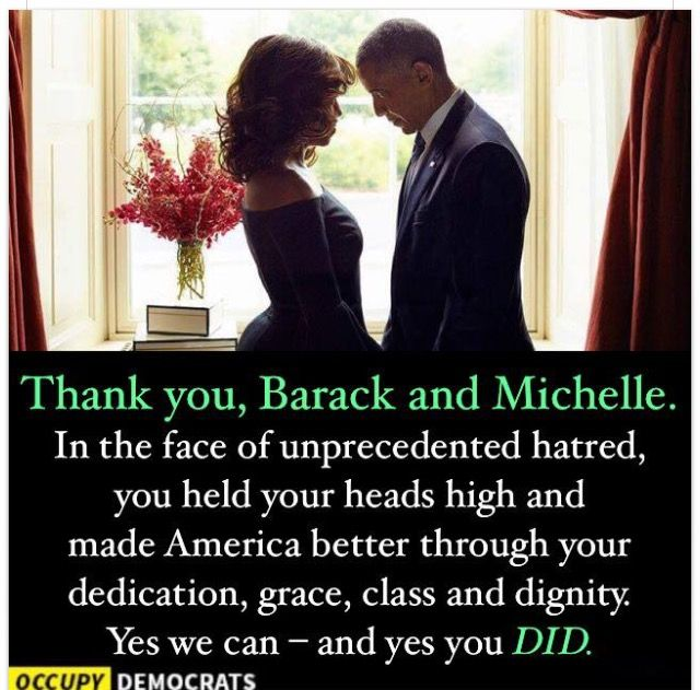 I'm going to miss the First Couple.