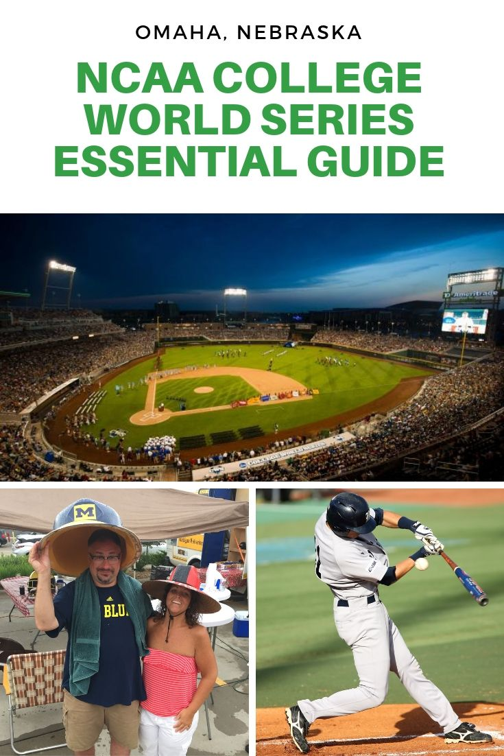 Essential Guide To The College World Series Omaha 2020 Updates Oh My Omaha College World Series Baseball World Series World Series