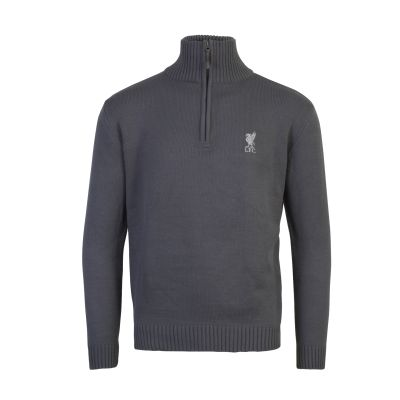 LFC Mens Charcoal Cup Zip Neck | Liverpool FC Official Store