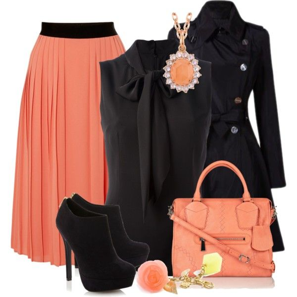 """""""Midi Skirt Style"""" by harnix on Polyvore"""