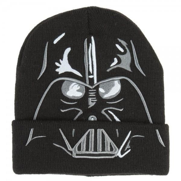 76ed424775b Star Wars Darth Vader Cuff Beanie (Officially Licensed)