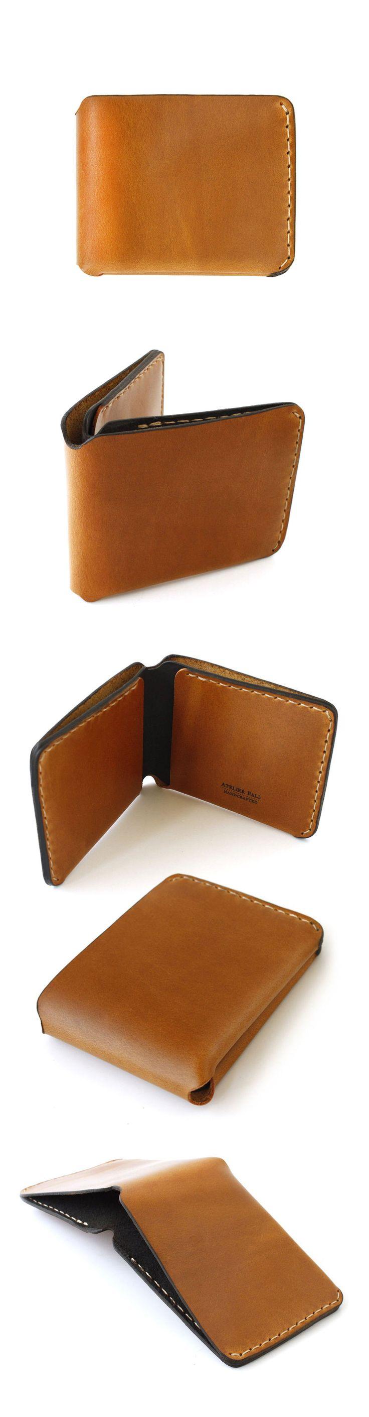 Handcrafted Bifold Wallet. London Tan