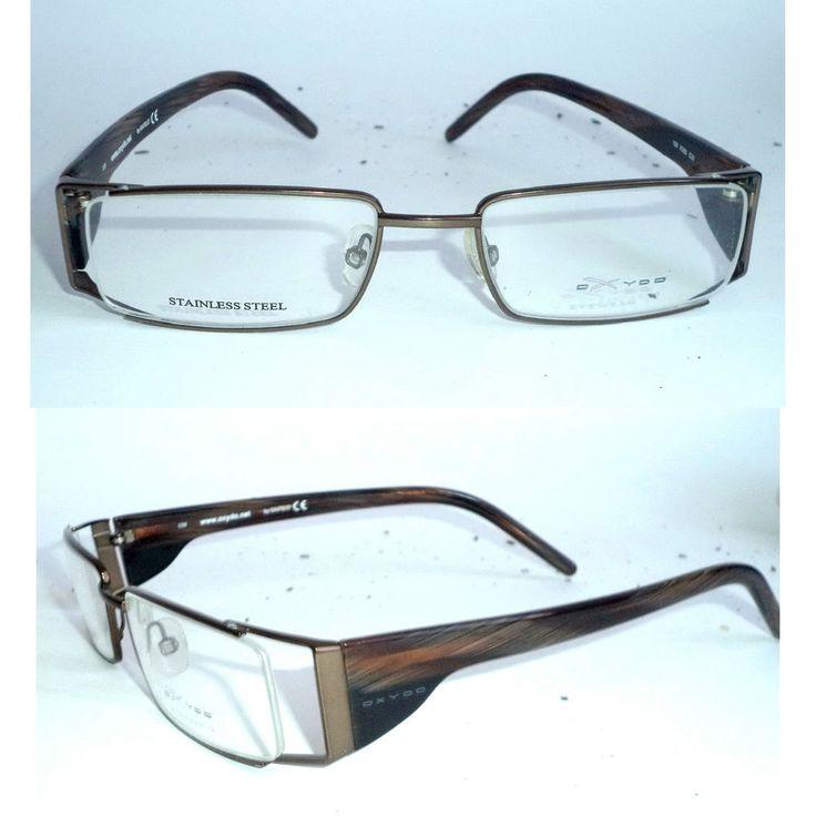 New Safilo Oxydo Mens x326 C23 Walnut copper Rim Rec Eyeglasses Sunglasses Italy | eBay