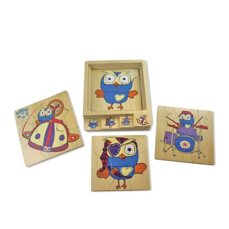 Layer #puzzle 4 in 1 #Hoot by Discoveroo