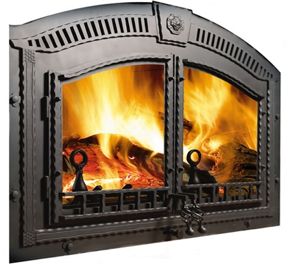 18 best Fireplace images on Pinterest | Fireplace doors ...