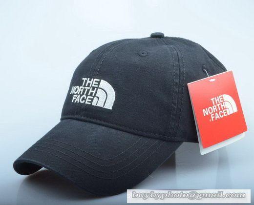 north face womens baseball cap the classic logo curved visor hat summer men women sport outdoor black