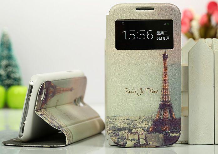 Θήκη Paris Preview Window Flip Case OEM (Samsung Galaxy S4 mini) - myThiki.gr - Θήκες Κινητών-Αξεσουάρ για Smartphones και Tablets - Paris je t' aime