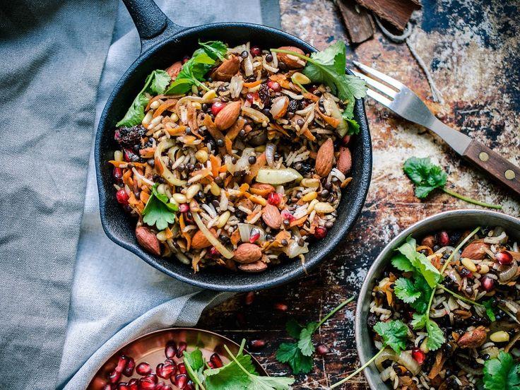 Libanonilainen paistettu riisi (kardemummaa ja neilikkaa huom. vähemmän!)