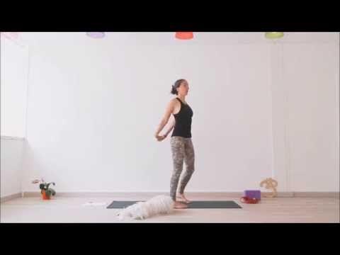 Séance de YOGA pour étirer le dos, se redresser, se grandir https://www.youtube.com/watch?v=ADgeaz3iWrI