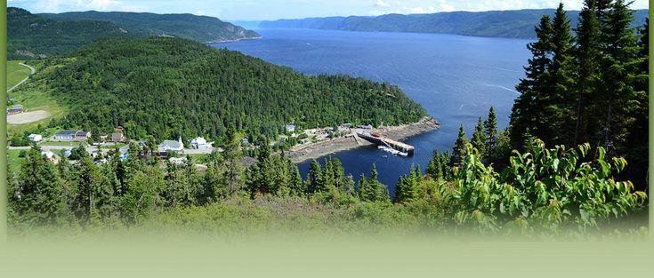 Ste-Rose du Nord au Lac-St-Jean, Québec